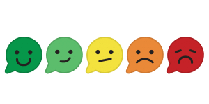 ViewPoint Smileys for instant customer feedback