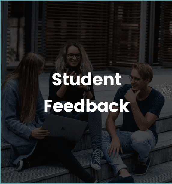 students outside university feedback devices