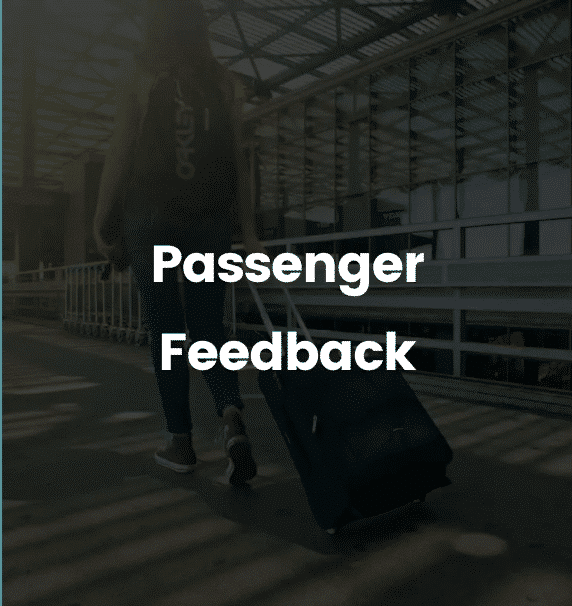 passenger feedback solutions